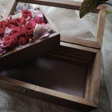 画像7: Preserved flower   ウッド ジュエルボックス  (7)