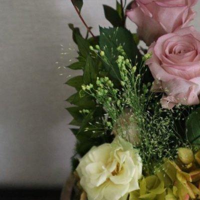画像2: Preserved flower |ローズガーデンを贈ります【ガラスドーム】