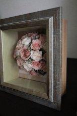 結婚式のラウンドブーケをそのままの形で残す