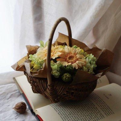 画像3: Preserved flower  恋する乙女に贈る花【フラワーバスケット】