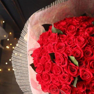 画像1: Preserved flower  108本のバラの花束で永遠を誓う プロポーズ