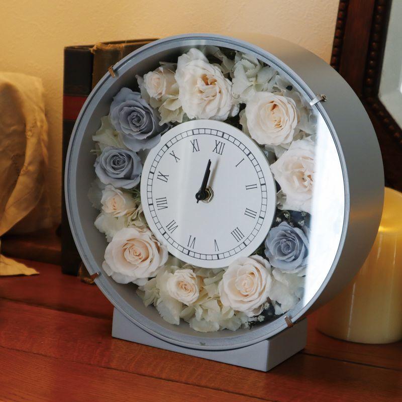 シックなスタイルの花時計