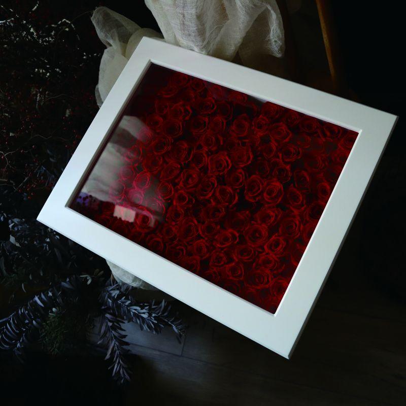100〜108本の生花の花束を保存されたい方にお勧め